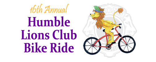 Humble Lion's Club Bike Ride, 2017!