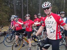 Humble Lions Club Bike Ride Photo.