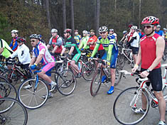 Humble Lions Club Bike Ride participants.